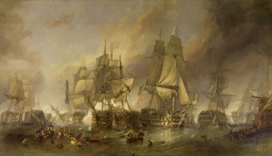 The_Battle_of_Trafalgar_by_William_Clarkson_Stanfield
